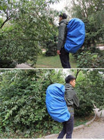 Waterproof Backpack Raincoat Suit
