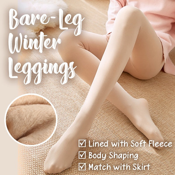 Woman - Bare-Leg Winter Leggings