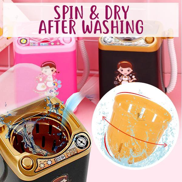 Woman - Makeup Puff Washing Machine