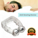 Silicone Magnetic Anti Snore Stop Snoring Nose Clip Sleep Tray Sleeping Aid Apnea Guard Night Device With Case - Coeexus