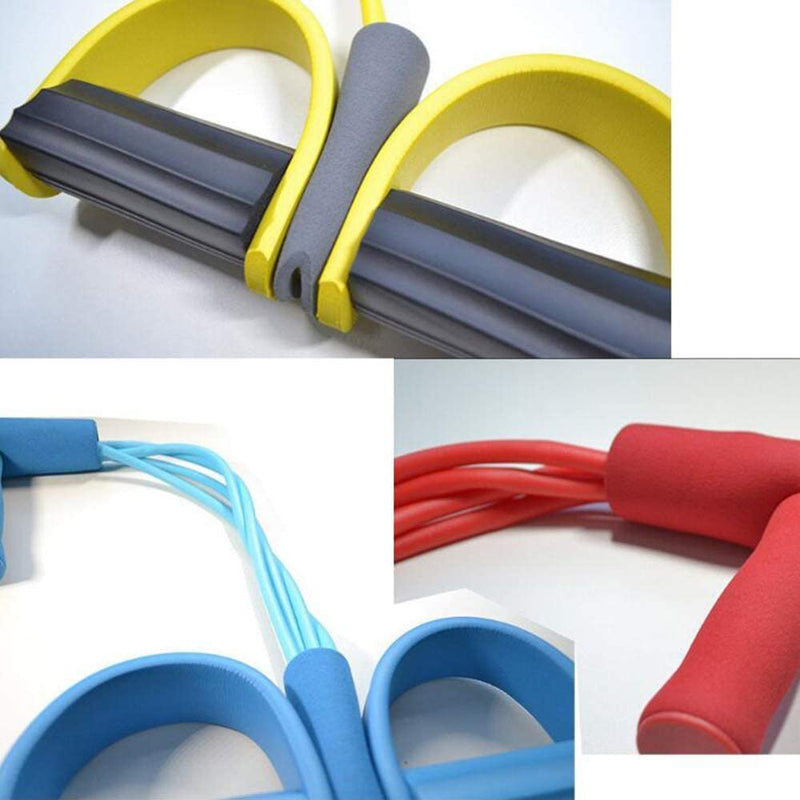 Fitness  Resistance Bands Latex New Pedal Exerciser Sit-up Pull Rope Expander Elastic Bands Yoga equipment Pilates Workout - Coeexus