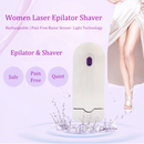 Women Rechargeable Epilator Remover Smooth Touch Hair Removal Razor Sensor-Light Technology - Coeexus