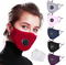 Reusable Cotton Mouth Mask Cover Respirator PM2.5 Anti-Dust Face Mask + 2pcs Masks Filter / US FREE SHIPPING BUY  5 O MORE AND GET 30% OFF - Coeexus