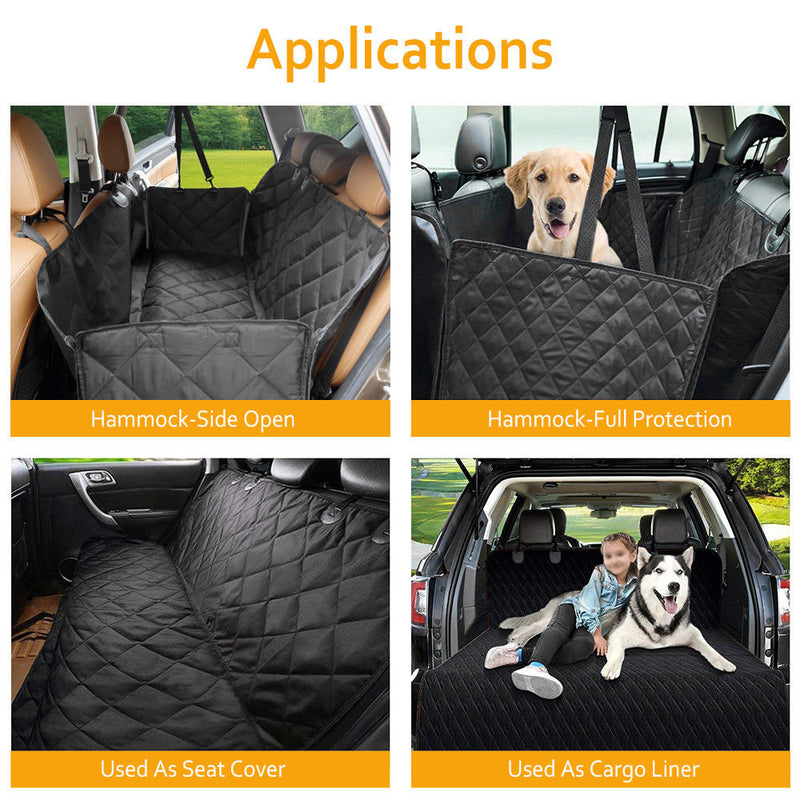 Waterproof Dog Car Seat Cover for Cat Pets - Coeexus