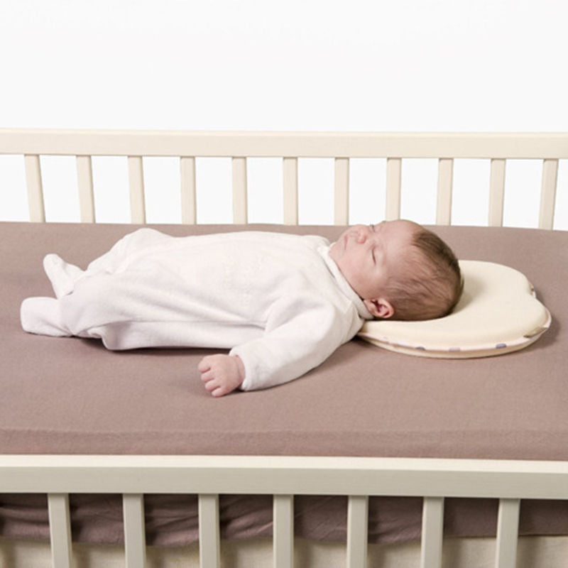 Head Shaping Baby Nursing Pillow Anti Roll Memory Foam Pillow Prevent Flat Head Neck Support  Newborn Sleeping Cushion - Coeexus