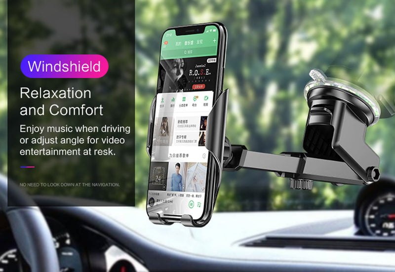 Car Phone Holder for iPhone 11 360 Rotation Holder Car Air Vent Mount Car Holder Stand for iPhone 7 8 XS Max for xiaomi - Coeexus