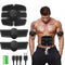Rechargeable Arm Muscle Exerciser Slimming Tool ABS Abdominal Muscle Stimulator Wireless Smart Fitness EMS Training Helper - Coeexus