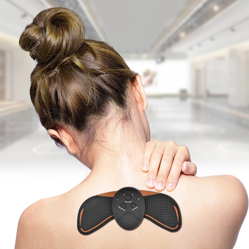 Hot Sale Battery Operated Massager EMS Intelligent Cervical Massage Fitness Instrument for Neck Shoulder Pain Relief - Coeexus