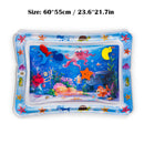 Baby Kids Water Play Mat Inflatable Infant Tummy Time Playmat Toddler for Baby Fun Activity Play Center - Coeexus