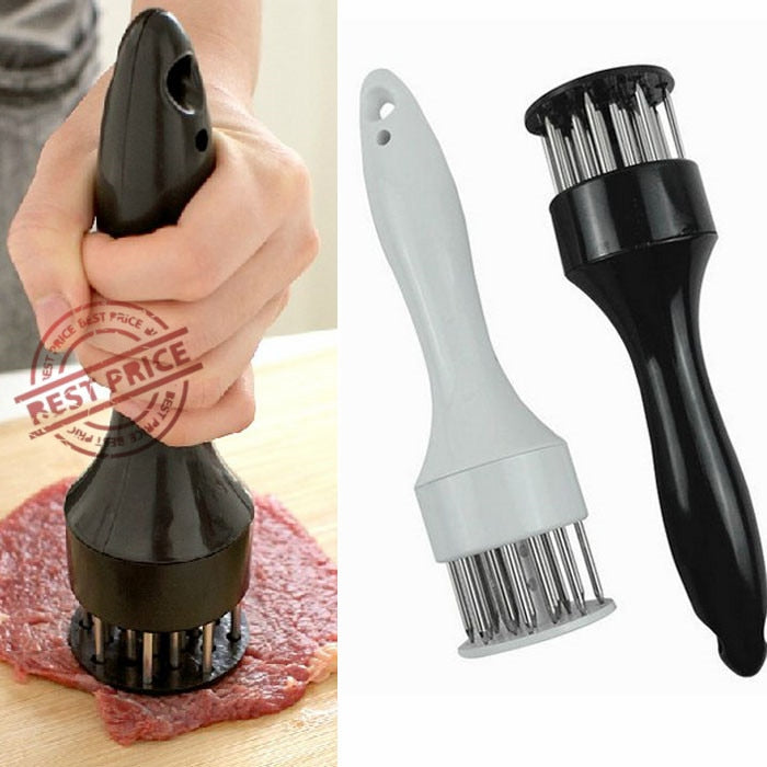 Stainless Steel Meat Tenderizer Needle Meat Hammer Tenderizer Cooking Tools Kitchen Tools Cooking Baking Accessories