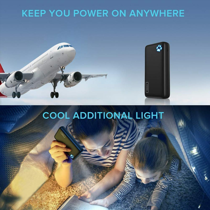 20000mAh Power Bank 3A Dual USB C Port Portable Charger Powerbank External Battery Pack For iPhone 11 Poverbank - Coeexus