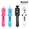 3 in 1 Wireless Bluetooth Selfie Stick + Mini Selfie Tripod With Remote Control For Mobile Phone - Coeexus
