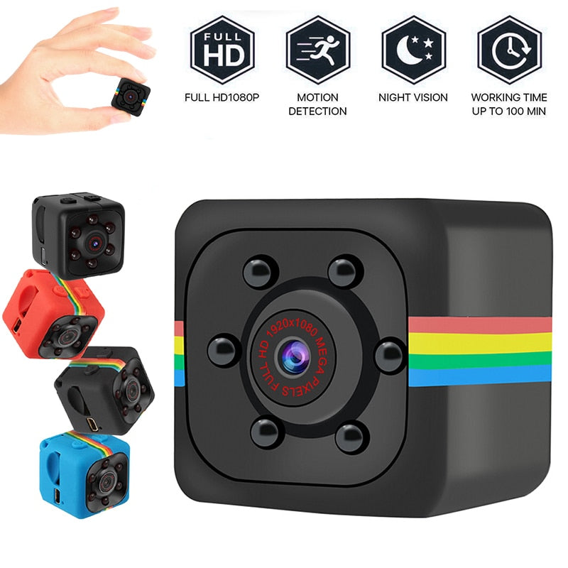 Coeex SQ11 Mini Camera Full HD 960P Sports Cameras Night Vision Car DV DVR Easy To Install Home Protection Cam - Coeexus