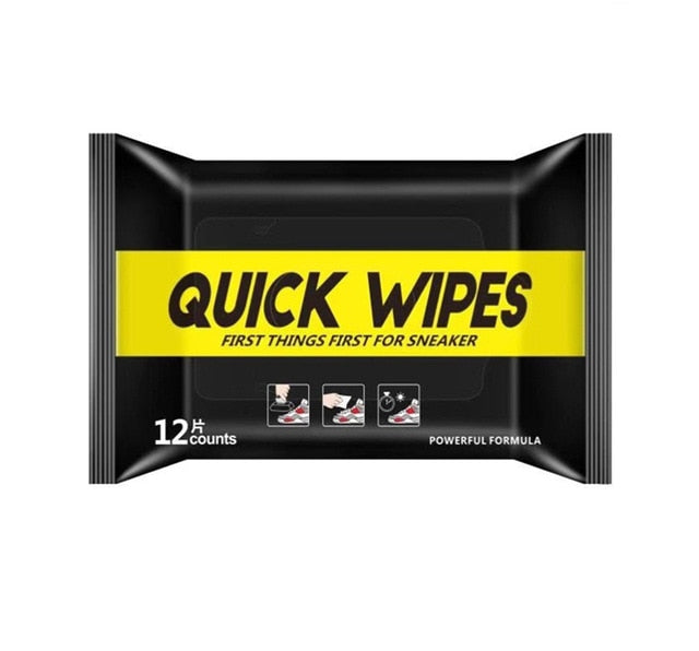 Disposable Shoe Wipes Small White Shoe Artifact Cleaning Tools Care Shoes Useful Fast Scrubbing Quick Clean Wipes - Coeexus