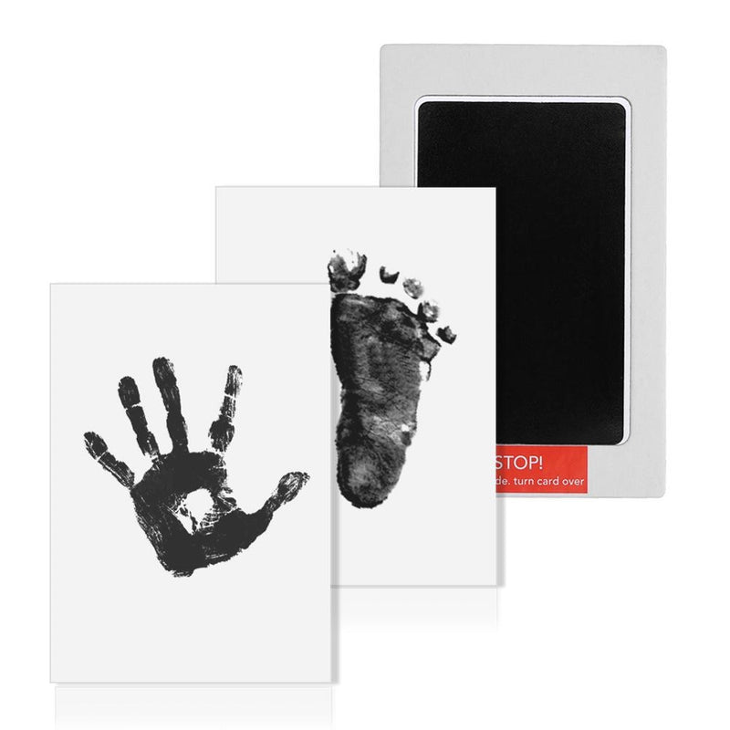 Baby Care Non-Toxic Newborn Handprint Footprint Imprint Kit Souvenirs Casting Parent-child Hand Inkpad Watermark Infant Clay Toy - Coeexus