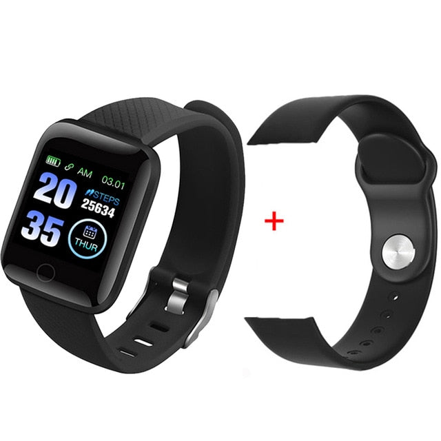 Smart Bracelet Blood Pressure Measurement Waterproof Fitness Tracker Watch Heart Rate Monitor Pedometer Smart Band Women Men - Coeexus