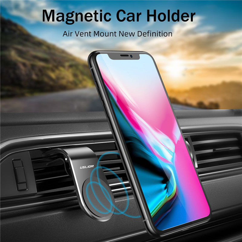 Car Phone Holder For Phone In Car Mobile Support Magnetic Phone Mount Stand For Tablets And Smartphones Suporte Telefone - Coeexus