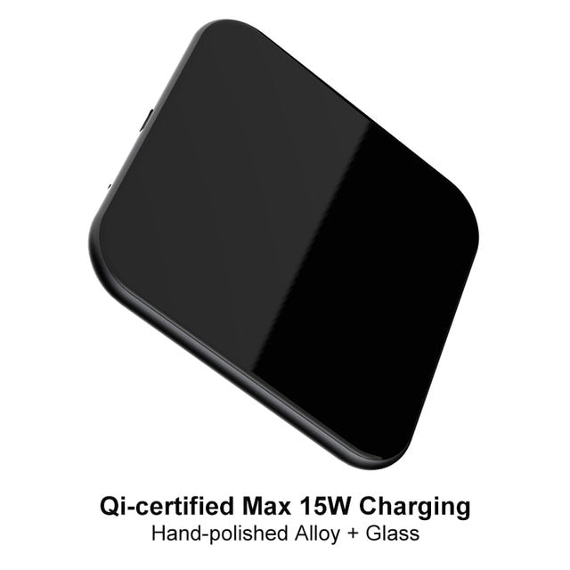 15W QI Quick Charging Wireless Fast Charger usb tpye c QC 3.0 Mobile phone Station For iphone samsung s9 xiaomi SIKAI - Coeexus