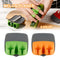 Stainless Steel Sharp Blade Finger Fruit Vegetables Peeler Gadget Slicer Kitchen Finger Protectiver sharp blade finger peeler - Coeexus