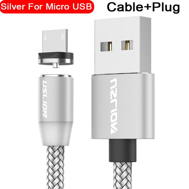 USB Type C Cable Magnetic USB Cable Fast Charging  Magnet Charger Data Charge Micro USB Cable Mobile Phone Cable USB Cord - Coeexus