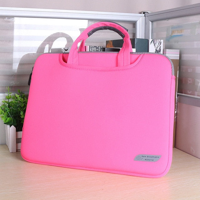 Laptop Bag Case for Macbook Air Pro Retina 13 15 Laptop Sleeve 15.6 Notebook Bag For Dell Acer Asus HP Business Handbag - Coeexus