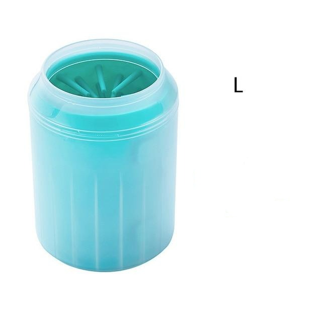 Dog Paw Cleaner Cup Soft Silicone Combs Portable Outdoor Pet towel Foot Washer Paw Clean Brush Quickly Wash Foot Cleaning Bucket - Coeexus