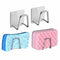 1PC Kitchen Stainless Steel Sponges Holder Self Adhesive Sink Sponges Drain Drying Rack Kitchen Sink Accessories Organizer #LC - Coeexus