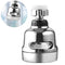 360 Degree Rotary Swivel Faucet Nozzle Anti-splash Water Filter Adapter Shower Head Bubbler Saver Tap Bathroom Kitchen Tools #10 - Coeexus