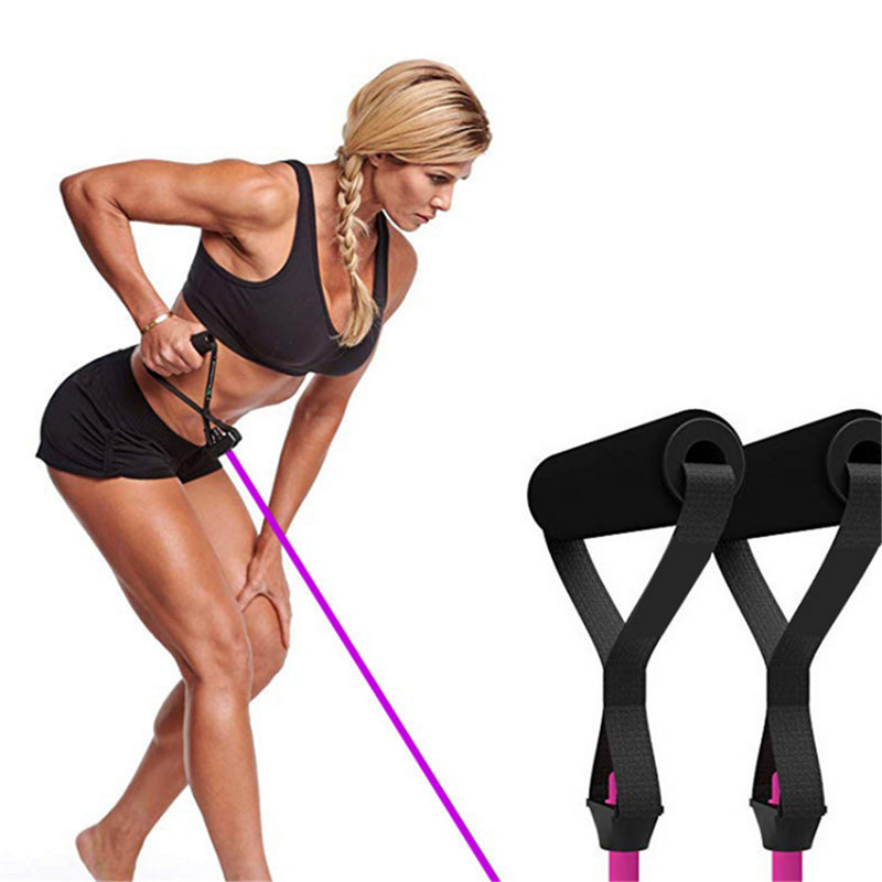Push Up Board 13 in 1 and Resistance Bands  Bracket Fitness Equipment Multi-function Home Different Muscle Training Exercise Bracket - Coeexus