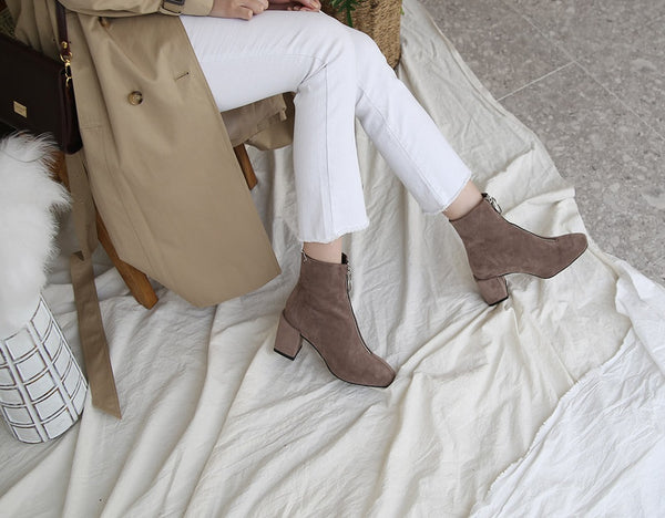 Bell Ring Ankle Boots