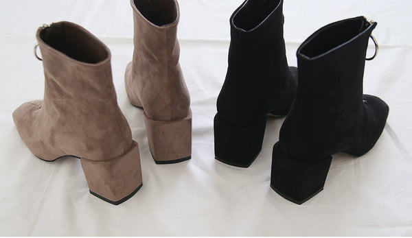 Bell Ring Ankle Boots-holiholic.com