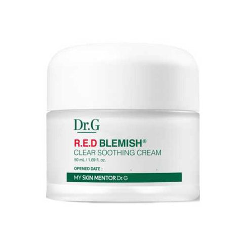 [Dr.G] NEW RED Blemish Clear Soothing Cream 50ml-Holiholic