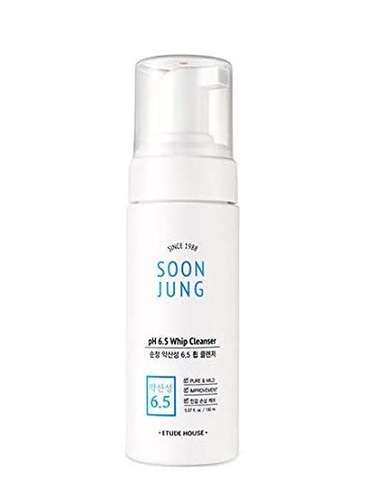[Etude House] Soon Jung pH 6.5 Whip Cleanser- Holiholic