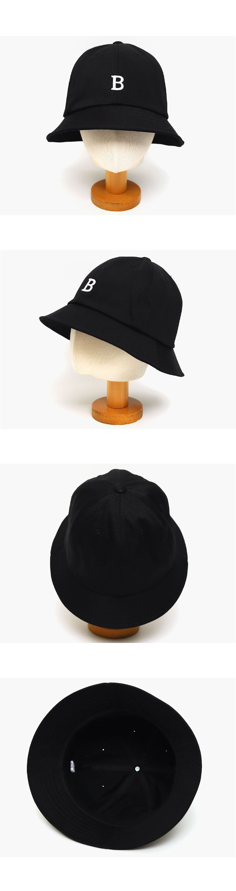 Letter Embroidery Bucket Hat-Holiholic