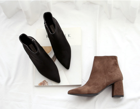 Moscow Suede Ankle Boots