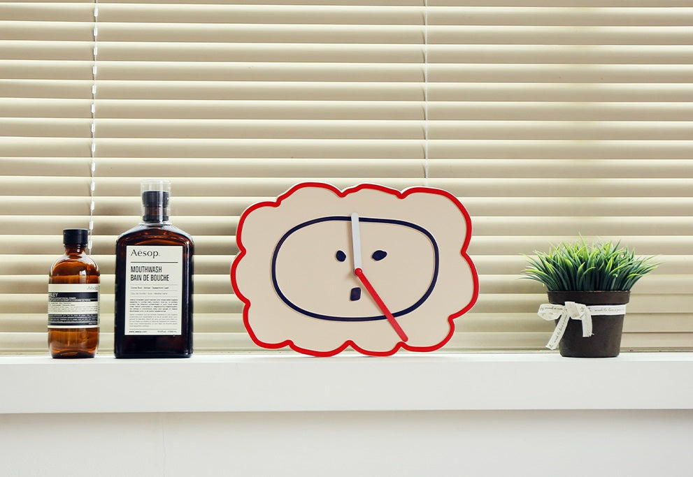 [ROMANE] Brunch Brother Wall Clock – Lion