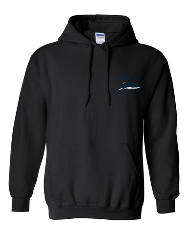 Sweatshirt - FINNED SHARK POCKET Hoodie