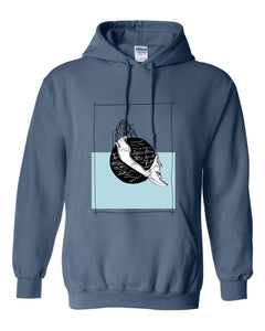 Sweatshirt - MERMAID CLEAR OCEAN CONSERVATION Hoodie