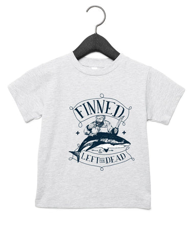 T-Shirts - FINNED & LEFT FOR DEAD PIRATE Groms Jersey T-shirt