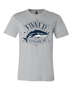 FINNED SHARK Jersey T Shirt