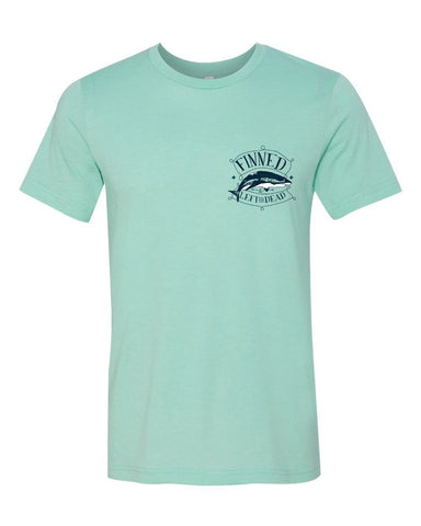 T-Shirts - FINNED SHARK POCKET  Jersey T Shirt