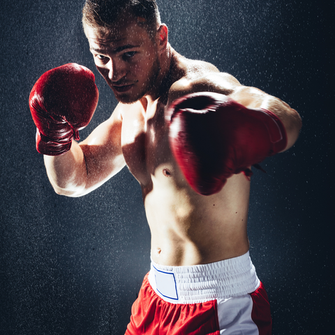 The Cave Boxing: boxing classes for men.