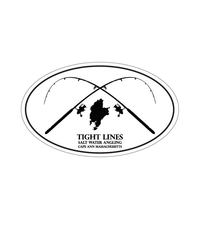 Tight Lines Sticker