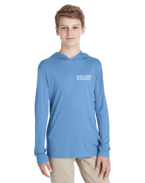Youth Sun Protection Hooded Shirt