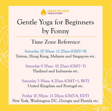 Load image into Gallery viewer, [Online] Gentle Yoga for beginners (50 min) at 10.30am Sat on 2 May 2020 -finished