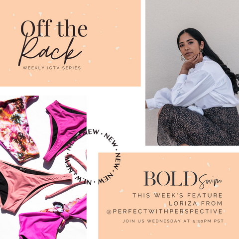 BOLD Swim IG Off The Rack Fashion Series