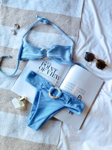Blue Allium Set - BOLD Swim