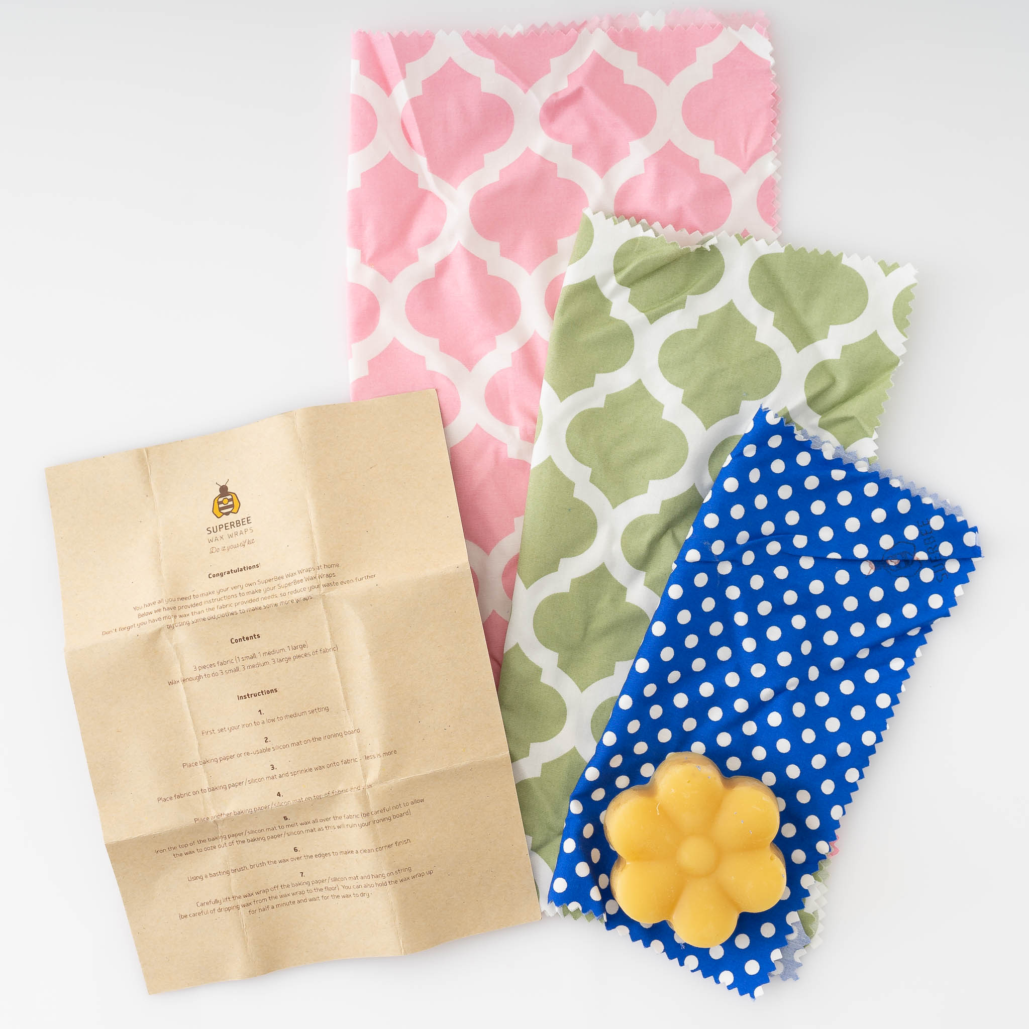 DIY Beeswax Wrap Kit - SATU