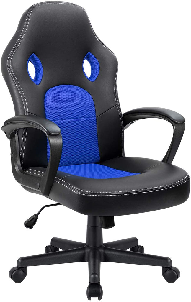 FURMAX - Gaming Office Desk Leather Chair Ergonomic Adjustable Racing