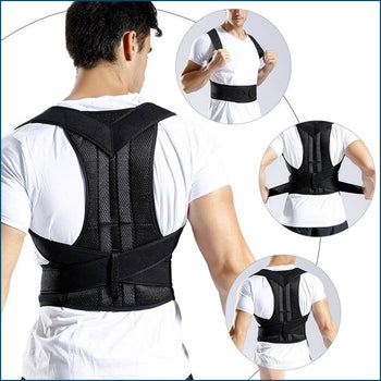 BACKFY™ Posture Corrector Back Posture Brace Clavicle Support - Adjustable Back Trainer Unisex